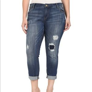 Kut from the Kloth Distressed Boyfriend Jeans